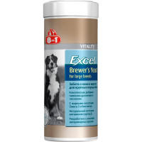 8in1 Vitality Brewer's Yeast for Large Breed Пивные Дрожжи для Собак Крупных Пород