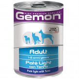 Консервы Gemon Dog Light для Собак Облегченный Паштет Тунец