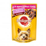Консервы Pedigree Mini для Собак Мелких Пород Ягненок