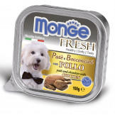 Консервы Monge Dog Fresh для Собак с Курицей