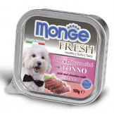 Консервы Monge Dog Fresh для Собак с Тунцом