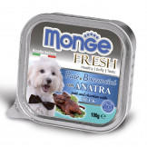 Консервы Monge Dog Fresh для Собак с Уткой