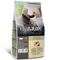 Корм Pronature Holistic Senior для Пожилых Кошек Рыба и Рис