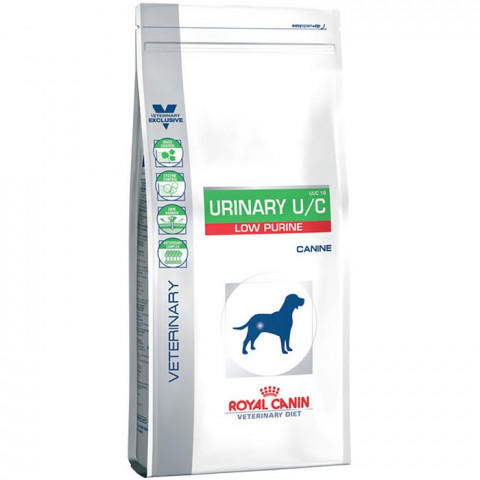 Royal Canin Urinary U/C Low Purine VVC18 Корм для Собак при МКБ