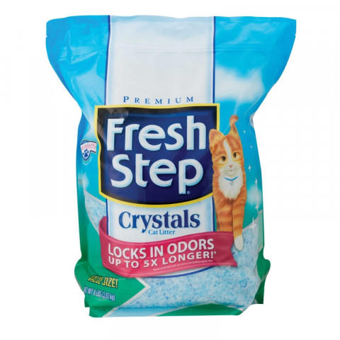 Fresh Step Crystals Наполнитель для Туалета c Силикагелем