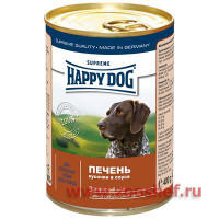 Консервы Happy Dog с Печенью для Собак
