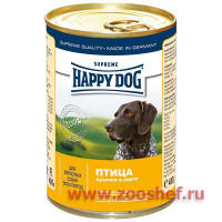 Консервы Happy Dog с Птицей для Собак