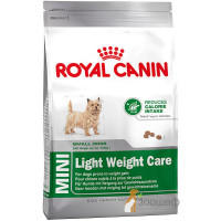 Корм Royal Canin Mini Light для Мелких Собак, Склонных к Набору Веса