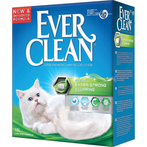 Ever Clean Scented Extra Strong Наполнитель с Ароматизатором