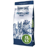 Корм Happy Dog Profi-Linie Basic 23/9,5 для Собак