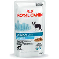 Консервы Royal Canin Urban Life Junior Wet для Щенков