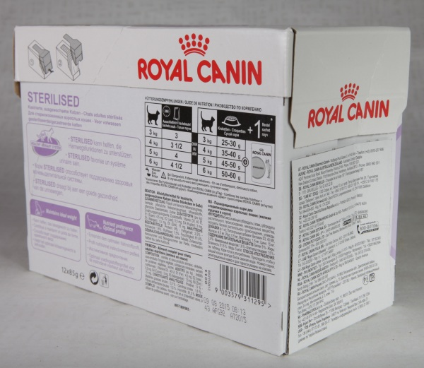 royal canin sterilised zooshef. Black Bedroom Furniture Sets. Home Design Ideas